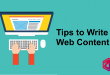 write web content